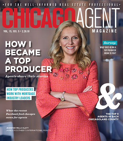 Chicago Agent Magazine's Top Producer issue