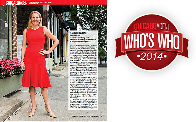 Chicago Agent Magazine's Who's Who Issue